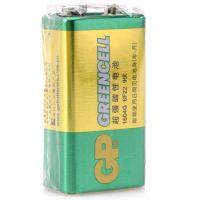 超霸(GP)1604G-S1碳性电池9V九伏10节装玩具遥控器无线麦克风电子仪表6F22 超霸9V电池 话筒电池 万用表电池