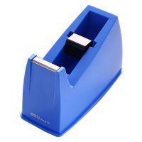 得力(deli)小号胶带座切割器封箱器(胶带宽度 ≤18mm) 蓝灰随机810 得力胶带座