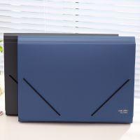 得力5551多层文件袋风琴包12格A4文件整理收纳包多功能资料文件包