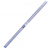 得力钢直尺 100cm钢尺1米钢尺学生用尺子不锈钢测量仪器文具用品 8460