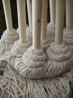 大圆头木把木杆墩布棉线吸水拖把白棉线绒线老式墩布拖布酒店棉线拖把