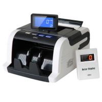 得力文具3911全智能点钞机 银行专用点钞机验钞机显示屏270度旋转