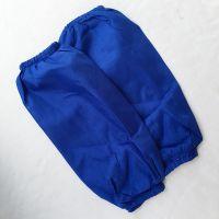 蓝色布袖套男女家庭酒店工作防污耐脏工业牛仔布加厚防护手袖