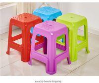 塑料凳子 家用 加厚成人方凳 板凳 换鞋凳 高凳 餐桌椅子塑胶凳子