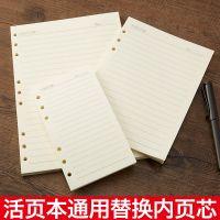 活页本替芯 活页纸内芯 A5 B5 活页替芯 6孔9孔笔记本