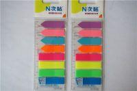 透明塑料指示标签 N次贴 分类 便利贴 45*12mm   34022   80张/包