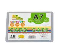 装得快JX807 A7 硬胶套 硬卡套 证件套PVC 资料 文件保护套卡片套