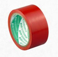 贴地胶带 PVC警示胶带,斑马标识地面.地板划线.警戒线红4.8cm  6cm