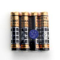 金白象5号AA五号电话机收音机遥控器大容量干电池5节/卡