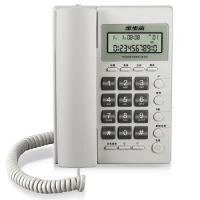 步步高(BBK) 步步高6082有绳电话机座机固定电话 有线座式家用办公电话 雅白色