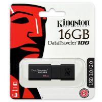 16GB 金士顿(Kingston)DT 100G3 16GB USB3.0 (黑色)U盘 高速车载U盘 黑色 优盘