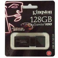 128g 金士顿(Kingston) DT 100G3 128GB USB3.0 (黑色)U盘  高速车载U盘 黑色
