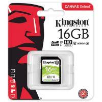 金士顿(Kingston)16GB SD卡 高速相机内存卡 Class10 UHS-I存储卡 升级版