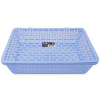 得力(deli) 924公文篮 网状塑料A4文件篮/文件框/票据篮/文件架 办公用品 蓝色