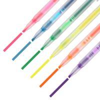 晨光(M&G)荧光笔  重点标记笔 本味系列手账手绘记号笔  AHM22703 直液荧光笔   开学