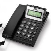 TCL HCD868(37)(黑)来电显示电话机 座机