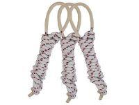 跳绳 无柄编织布棉绳  棉绳跳绳