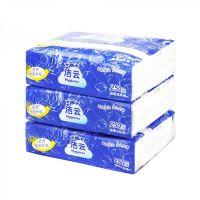 民用-洁云(Hygienix) 10240501/10240502加韧压花卫生纸-250张 草纸 平板纸