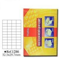 泰昌1286 标签纸 40格电脑打印标签52.5mm*29.7mm