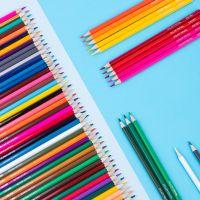 得力7070-12_12色 24色  36色 48色 六角杆彩铅 彩色铅笔  开学